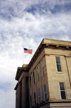 [photo: Ford County Court House, Dodge City, Kansas. C.